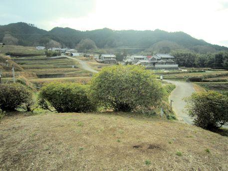 都塚古墳墳丘からの眺望