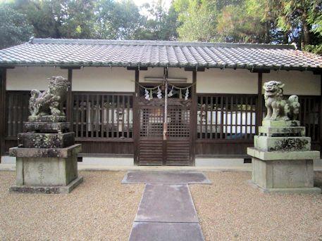 大久保神社拝殿