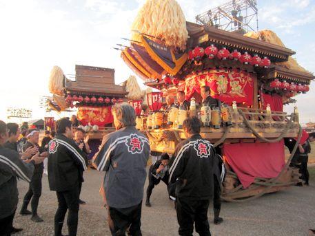 広陵町の戸閉祭