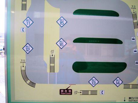 JR奈良駅西口12番乗り場