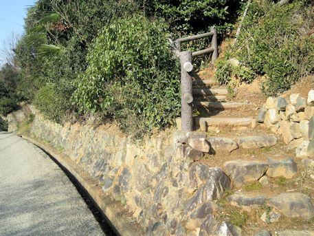 珠城山古墳群の入口