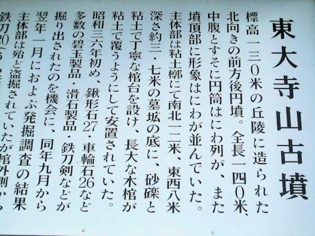 東大寺山古墳ガイド