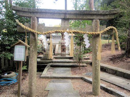 宗像神社の六社神社