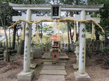 宗像神社のお祓い所