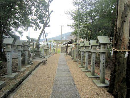 宗像神社参道