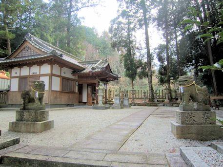 宗像神社の斎庭
