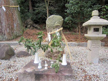 宗像神社の山神