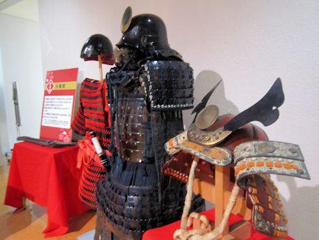 真田丸の兜と鎧