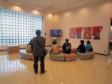 奈良県立美術館のビデオ鑑賞