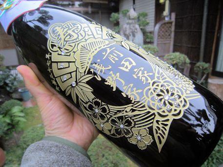 婚礼彫刻ボトル