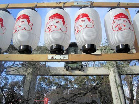 恵比須様の提灯