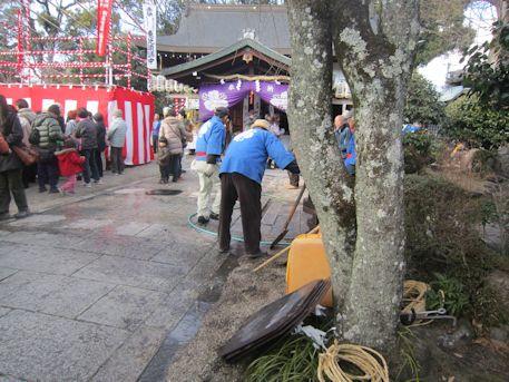 三輪の初市祭
