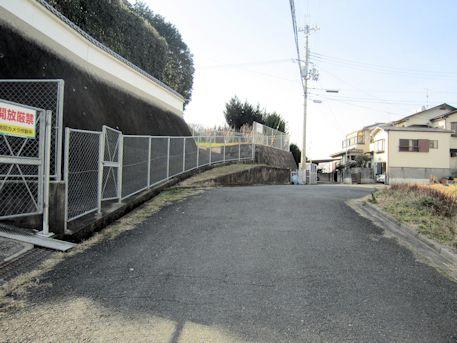 兜塚古墳のアクセスルート