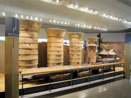 メスリ山古墳の円筒埴輪