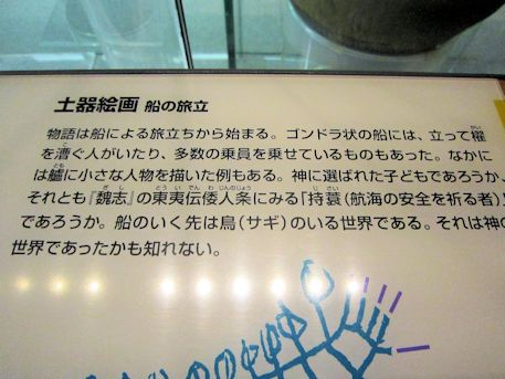 橿原考古学研究所附属博物館の船