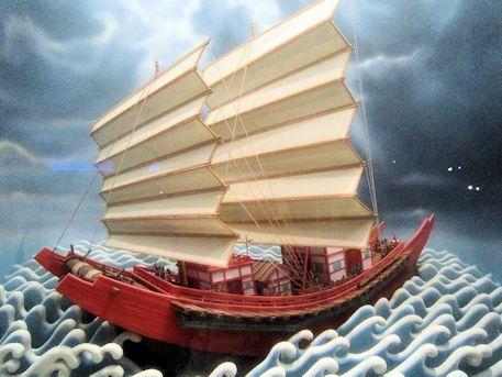 遣唐使船模型