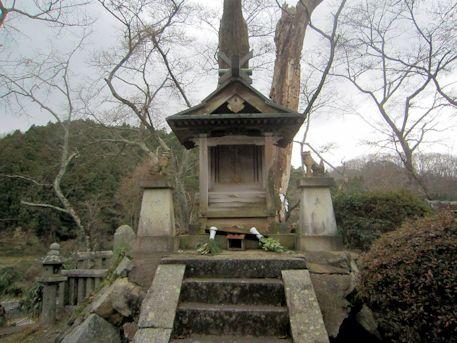 談山神社の小祠