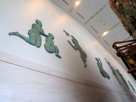 奈良県立万葉文化館の歌垣