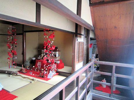 旧川本邸の2階