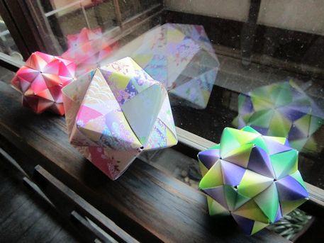金平糖の折り紙