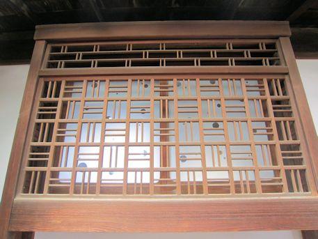 石川医院の連子意匠