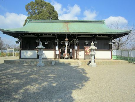 柳沢神社拝殿