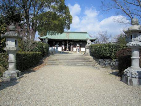 柳沢神社参道