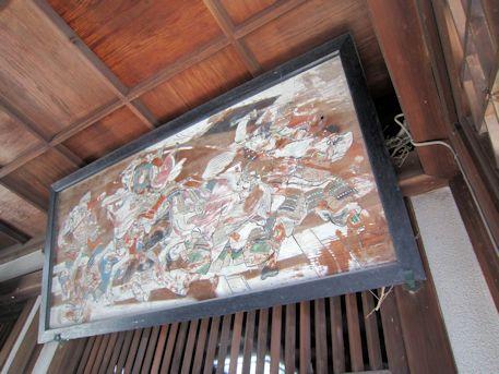 柳沢神社の奉納絵馬