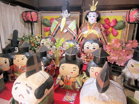 奈良一閑張の雛人形