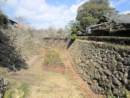 大和郡山城跡の濠