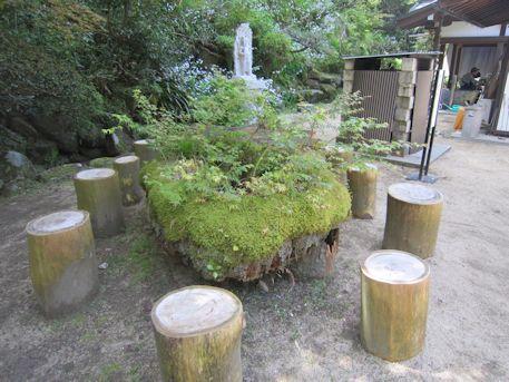 岡寺の休憩所