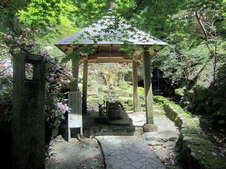 岡寺の瑠璃井