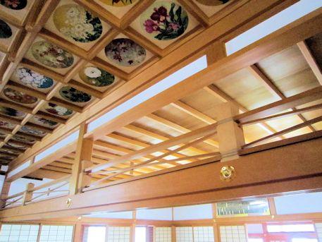 橘寺往生院の天井結界