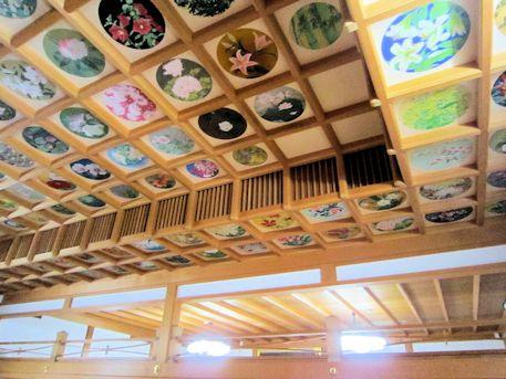 橘寺往生院の折り上げ天井