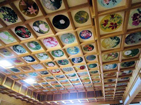 橘寺往生院の天井画
