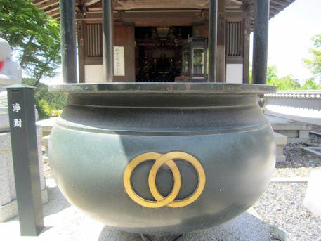 岡寺大師堂の香炉