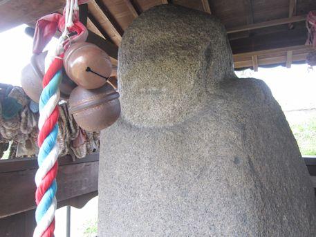 飛鳥の弥勒石
