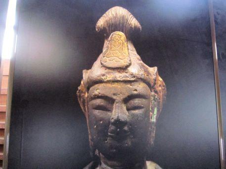 豊浦寺跡の観音菩薩