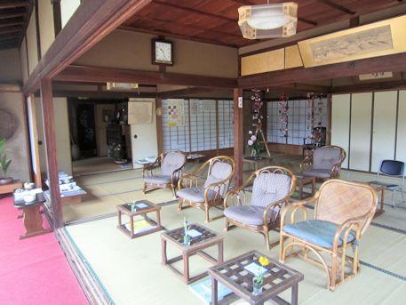璉珹寺の休憩処
