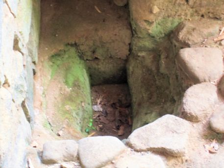 豊浦宮の掘立柱跡
