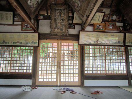 讃岐神社の奉納絵馬