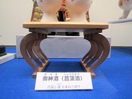 御神酒(菖蒲酒)