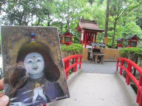 『雨宝童子』と市杵嶋姫神社