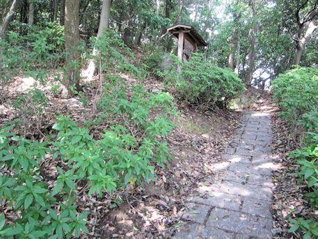 牧野古墳のアクセスルート