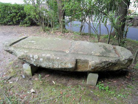 文代山古墳の石棺