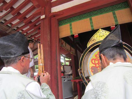 石上神宮の神剣渡御祭