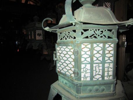 藤浪之屋の燈籠