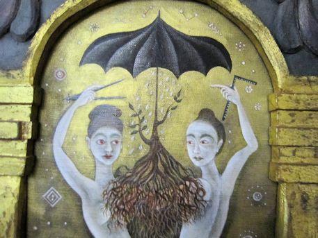 絵画『伏義女媧』の原画