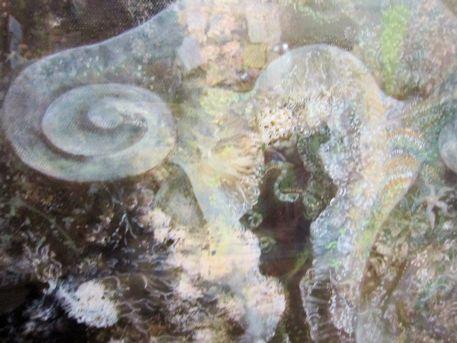 絵画『亀甲墓のYONIの原画』
