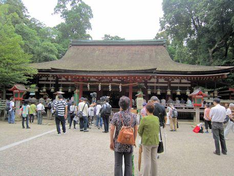 石上神宮の拝殿